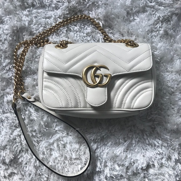 49886f16eed4 Gucci Handbags - Gucci GG Marmont matelassé mini bag